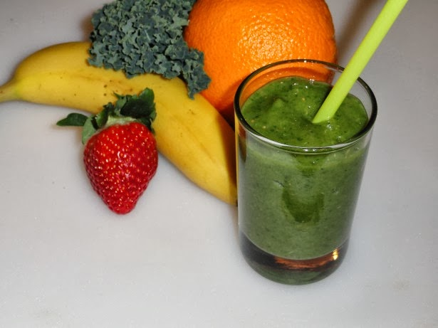 smoothies and green drinks