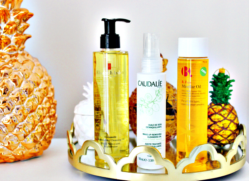 3 to try: new cleansing oils from Caudalie, b and Elizabeth Arden