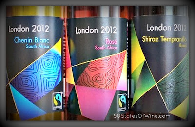 London 2012 Olympics Wine