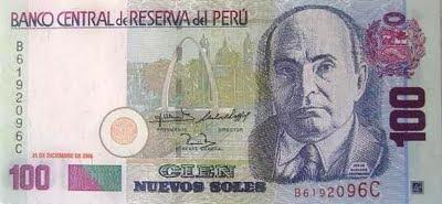 Jorge Basadre en Billete de 100 Nuevos Soles (Perú)