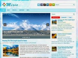 Mixie - Free Wordpress Theme