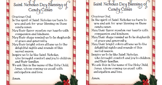 picture relating to St Nicholas Prayer Printable titled The Catholic Toolbox: Saint Nicholas Working day Blessing of Sweet
