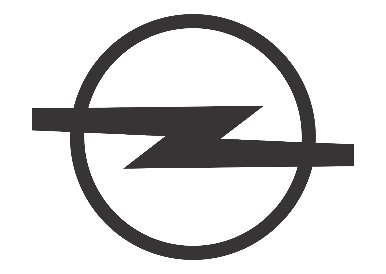 Opel Logo Vector Opel Design Black White Logo