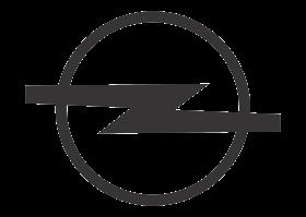 download Logo Opel (Design Black White) Vector
