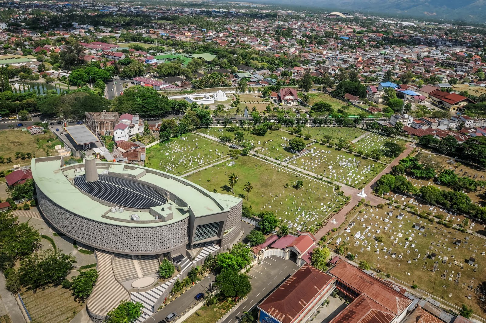 sky view of banda aceh