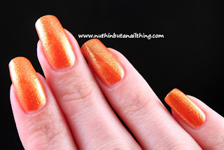Invogue Hi Res Glitter Polish Feeling Fruity