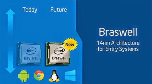 новые чипы Braswell