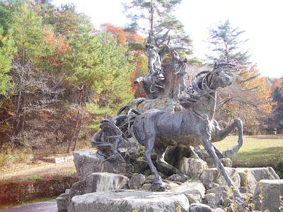 京都市・宝が池公園ウォーキング・エスタンピーダ