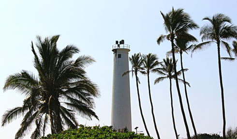 barbers point lighthouse oahu hawaii