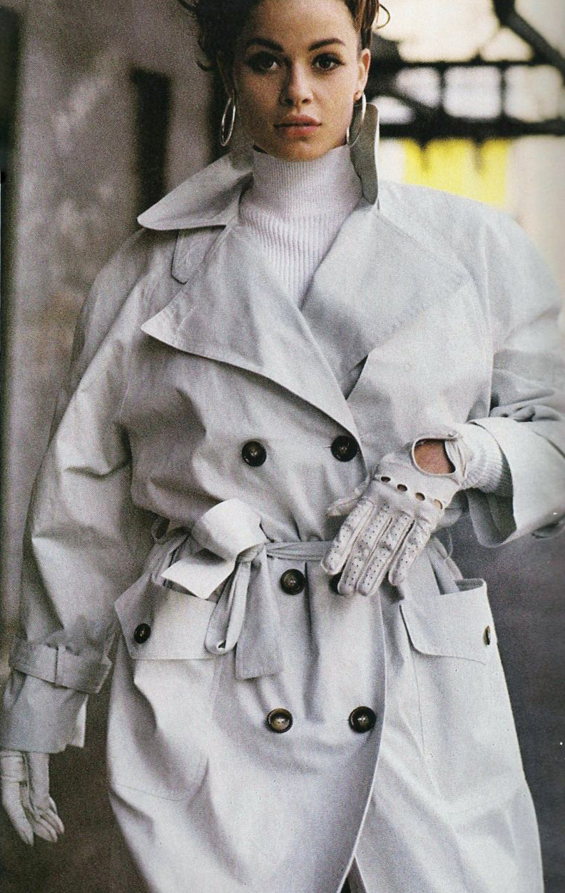Elle UK October 1990 via www.fashionedbylove.co.uk