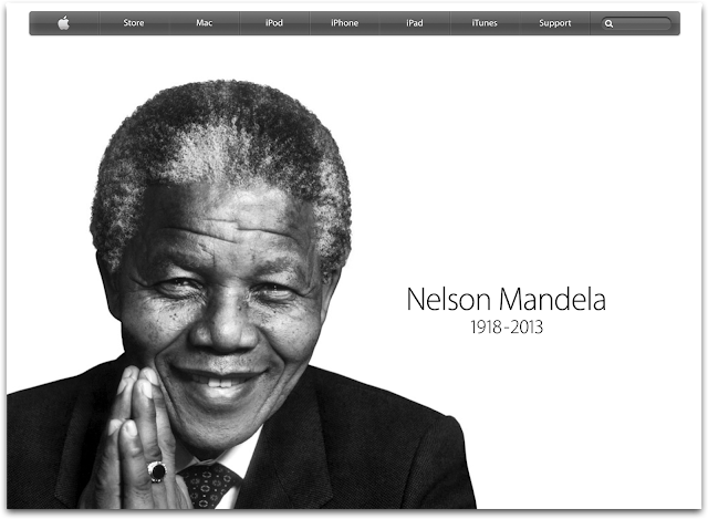 Nelson Mandela Apple.com