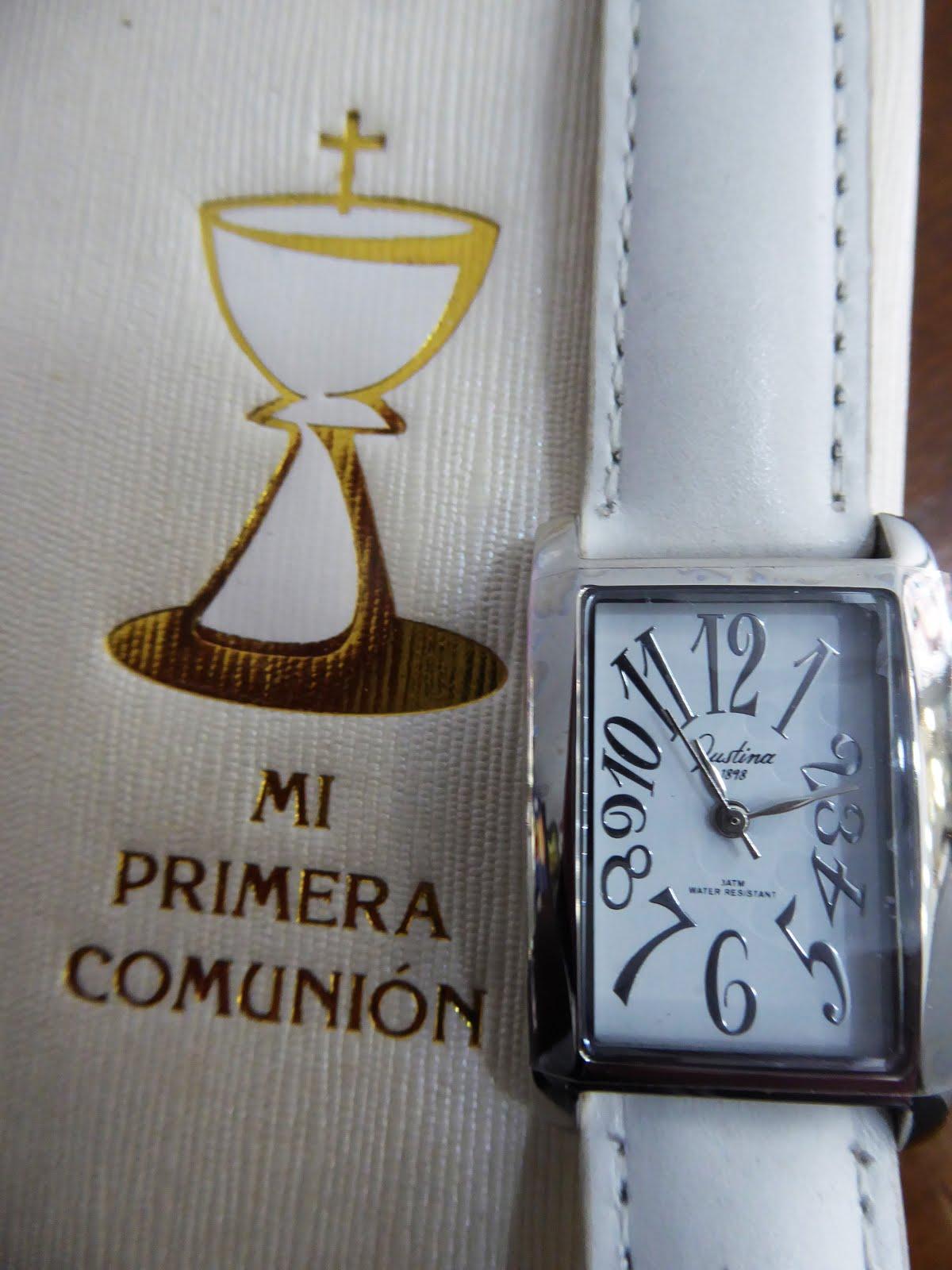 Reloj Comunión Justina