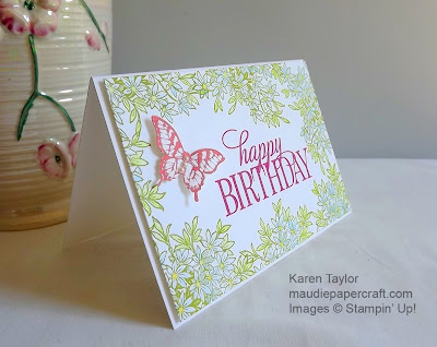 Stampin' Up! Awesomely Artistic card