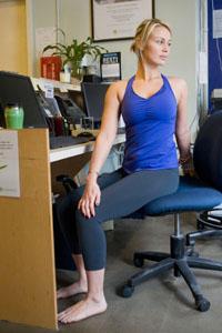 Yoga en silla, para la Oficina