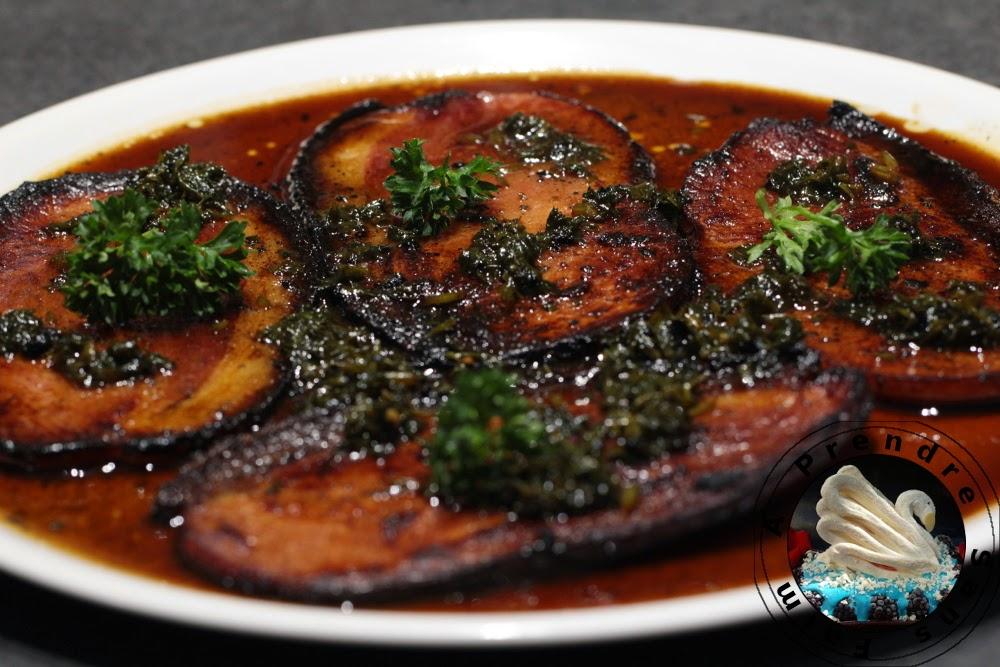 Steaks de jambon au persil a prendre sans faim - Comment congeler le persil ...
