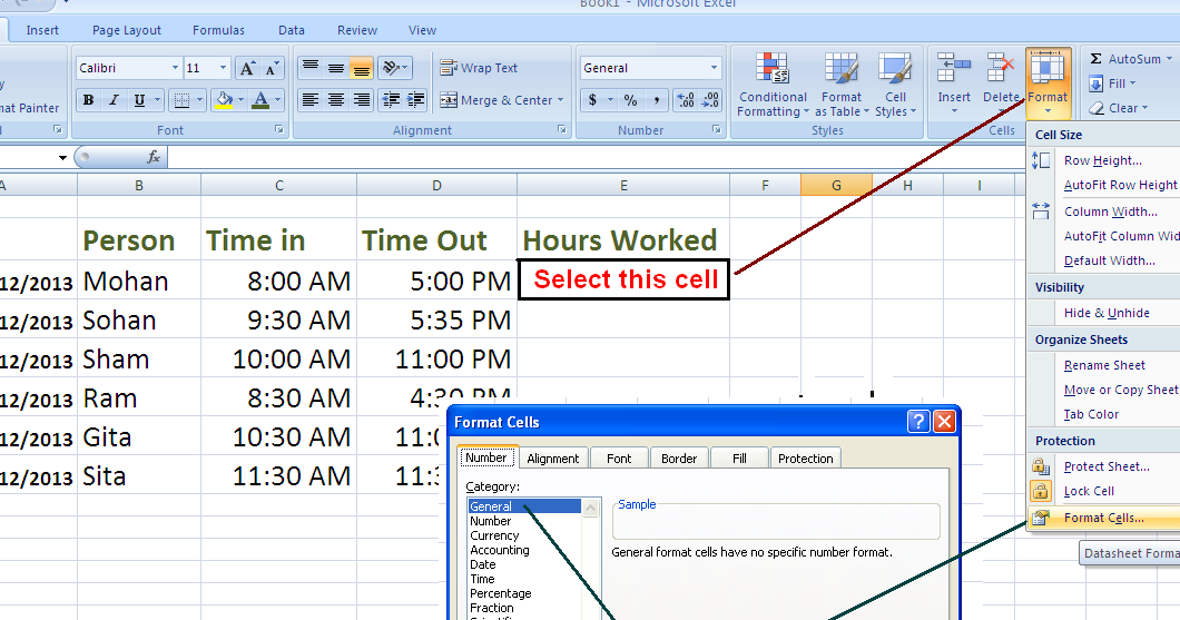 how to keep a record of hours worked
