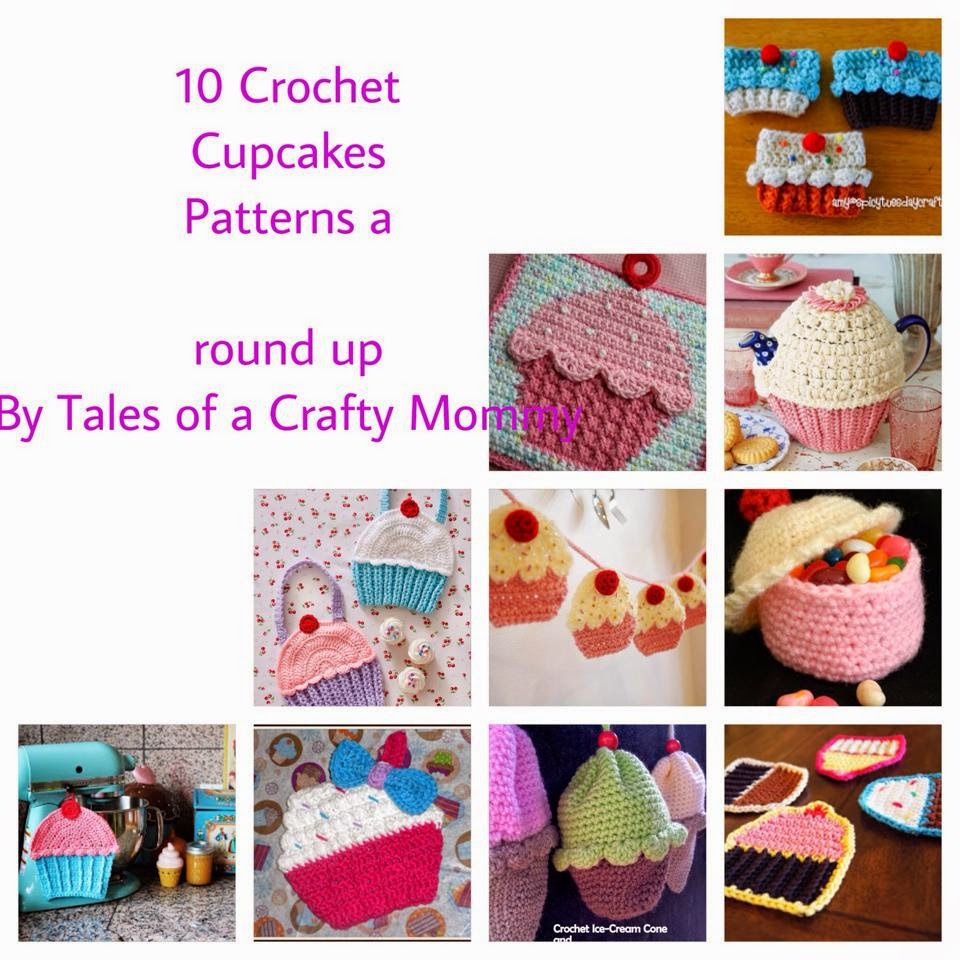 Cupcake Crochet Pattern Cool Decorating
