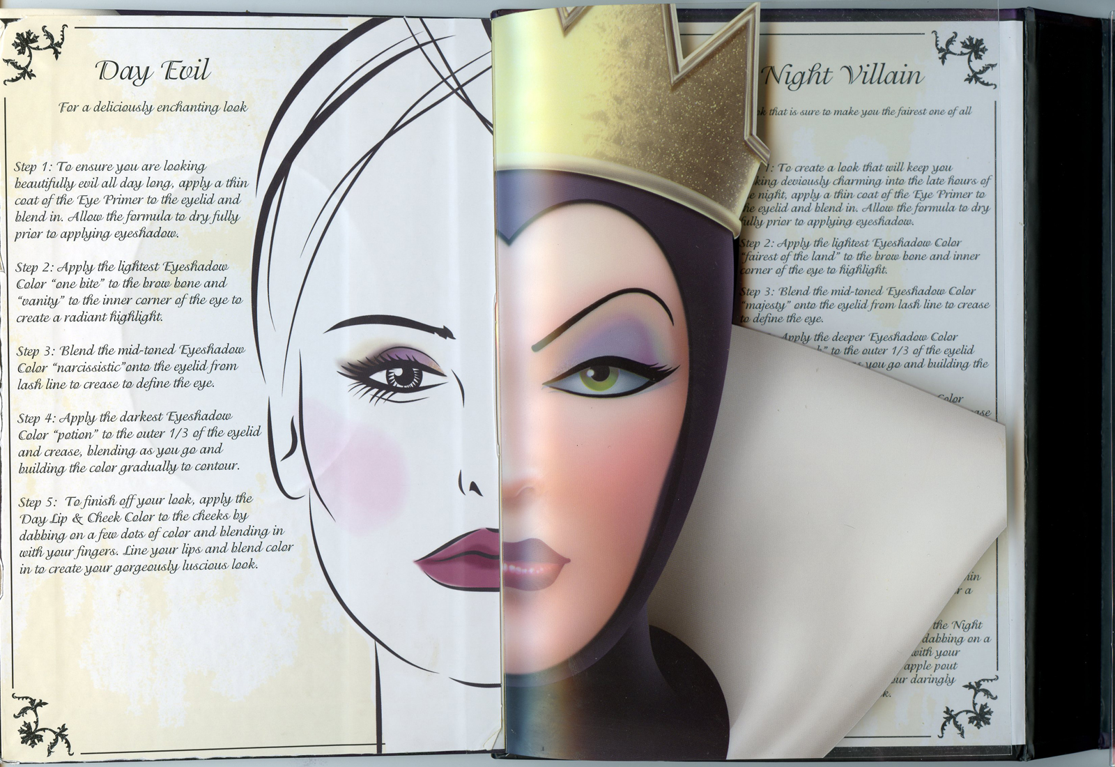 Filmic light snow white archive 2012 elf villain palette mirror and makeup baditri Choice Image