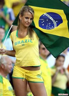 soccer paint Brazil body