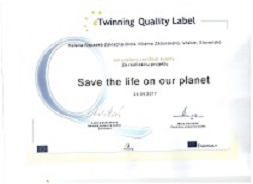 Slovak school got Quality label of eTwinning