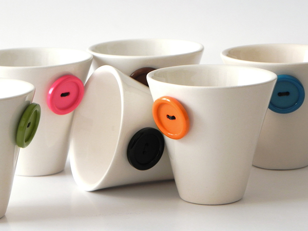 italian button coffee cups
