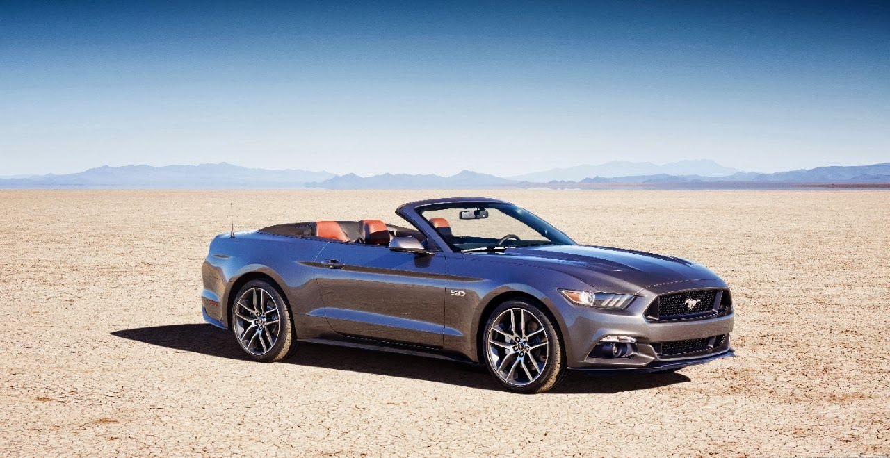 Ford Talks 2015 Mustang Convertible Design
