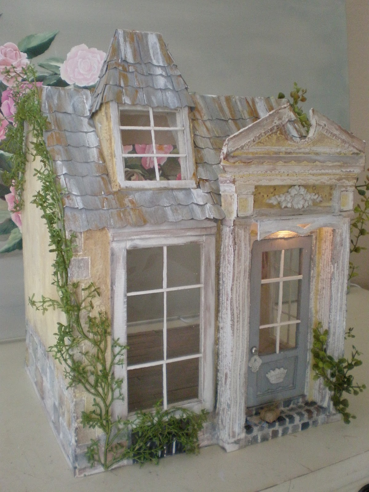 Cinderella Moments Ballerina Cottage Custom Electric