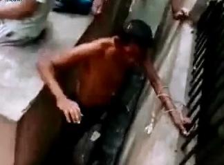 Brutal golpiza en Prision