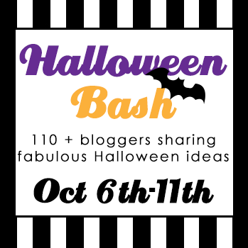 Halloween Bash Blog Hop Banner 110+Bloggers| www.blackandwhiteobsession.com