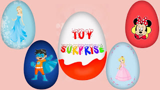Toy Surprise Eggs App