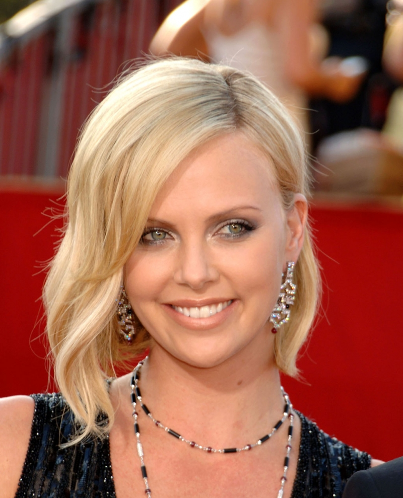 Megan Rossee Charlize Theron Different Hairstyle