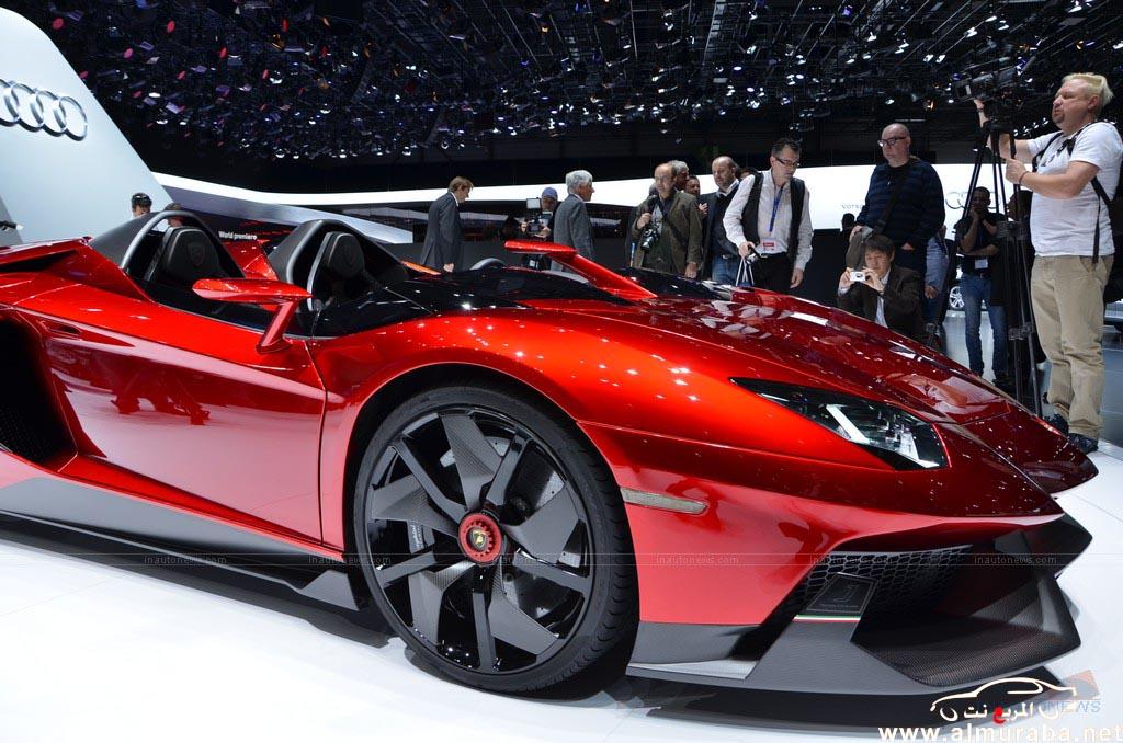 Everything New Lamborghini Aventador J 2013