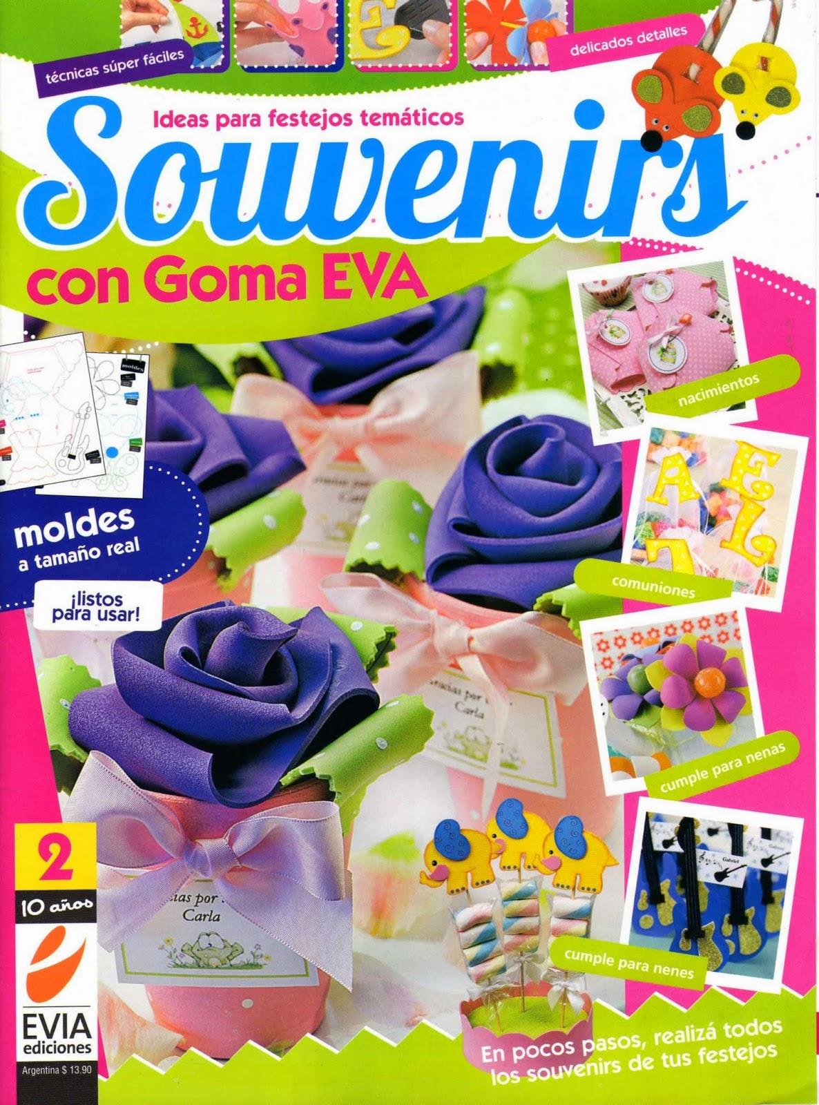 Souvenirs con goma eva paso a paso revistas de for Decoracion del hogar pdf