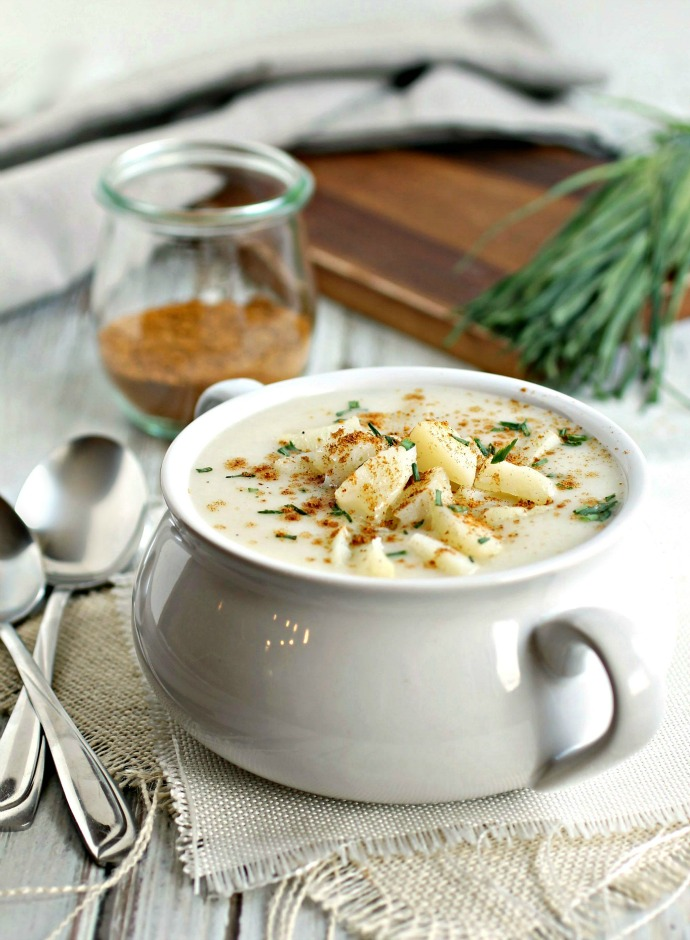 Creamy Potato Soup with Ras al Hanout
