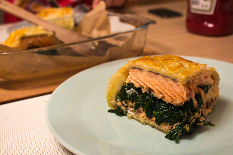 Salmon en croûte | Svelte Salivations