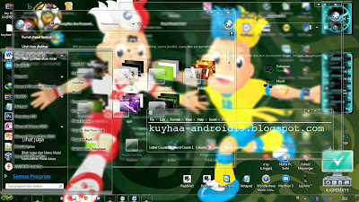 TEMA WINDOWS 7 SPECIAL EURO 2012 GLASS