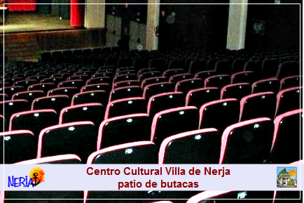 Patio de butacas del Centro Cultural Villa de Nerja