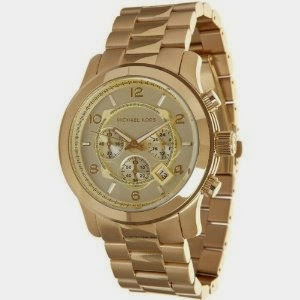 Watch Michael Kors MK8077 Gold-Tone Men's