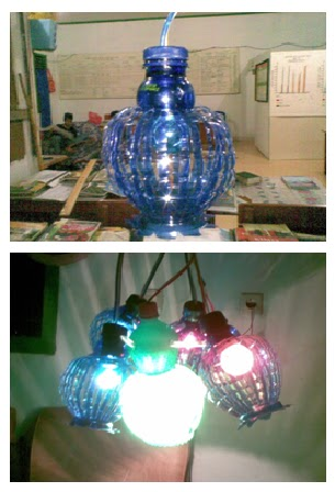 Lampion dari Botol Bekas ~ Blog Bang Sardy