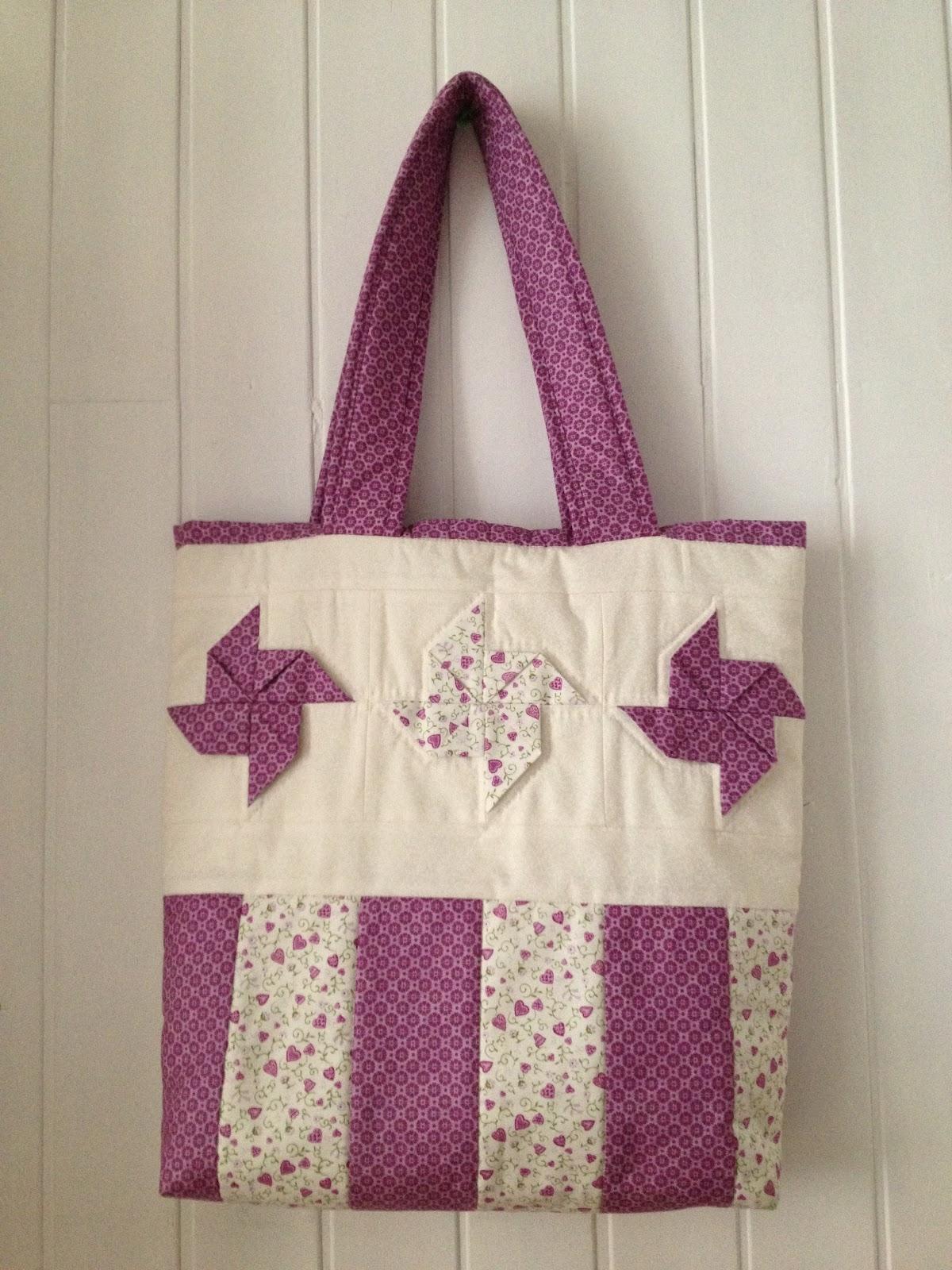 Tecel patchwork bolso de molinillos - Bolsos de tela hechos en casa ...