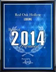 Best Lodging Award