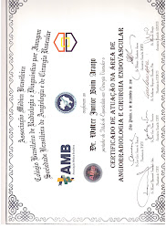 Título de Especialista em Angiorradiologia e Cirurgia Endovascular