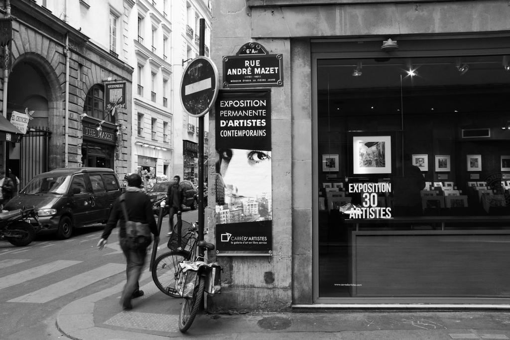 Paris (Carré Da'Artistes, rue André Mazet), by Guillermo Aldaya / PhotoConversa