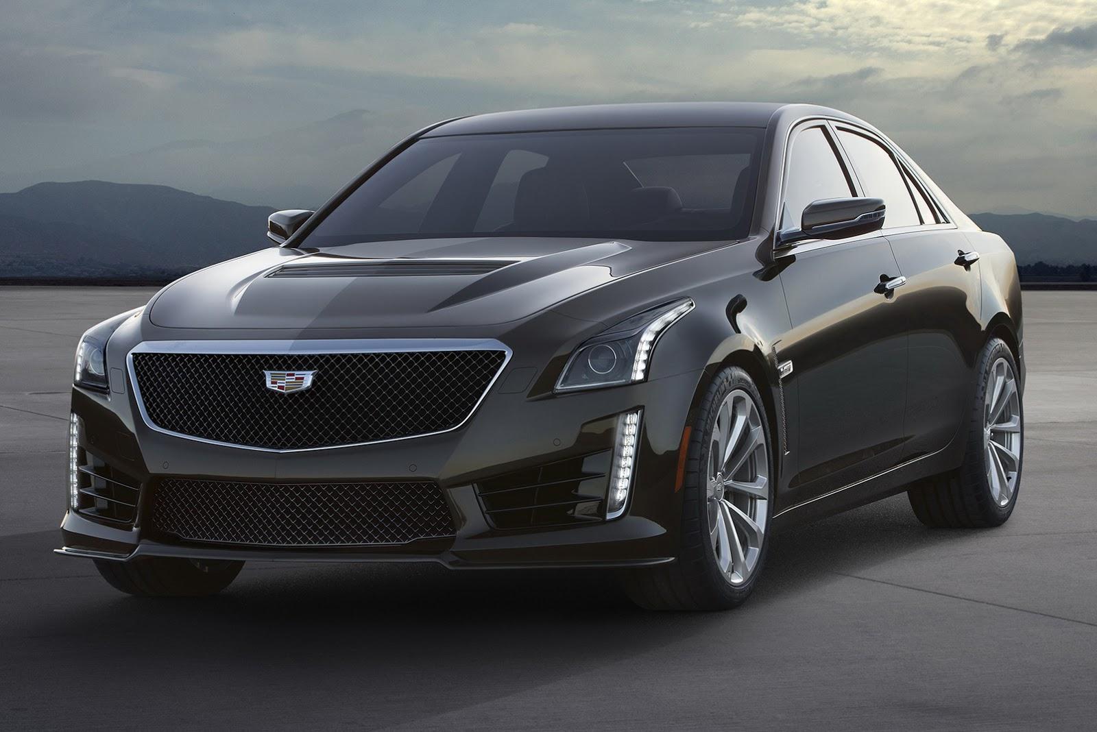 New 2016 Cadillac CTS-V Has 640HP Supercharged V8, Reaches