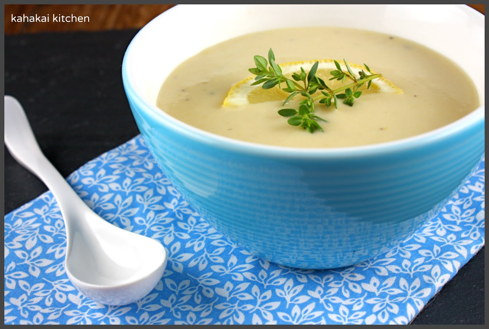 Kahakai Kitchen: Creamy Artichoke-Lemon Soup: Hot or Cold for Souper ...