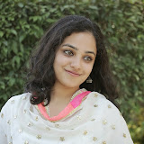 Nitya meenon Latest Photo Gallery in Salwar Kameez at New Movie Opening 2