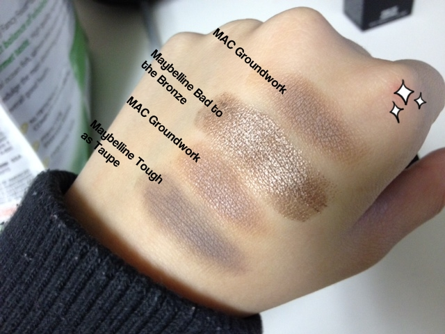 Blog mac paint pot in groundwork review swatch for Mac paint pot groundwork