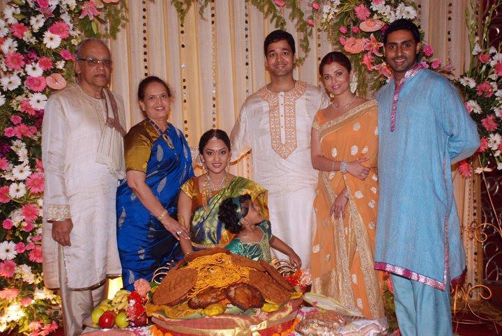 Aishwarya Rai 39s sister marriage photos