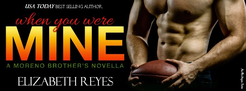 Cover Reveal – When You Were Mine by Elizabeth Reyes