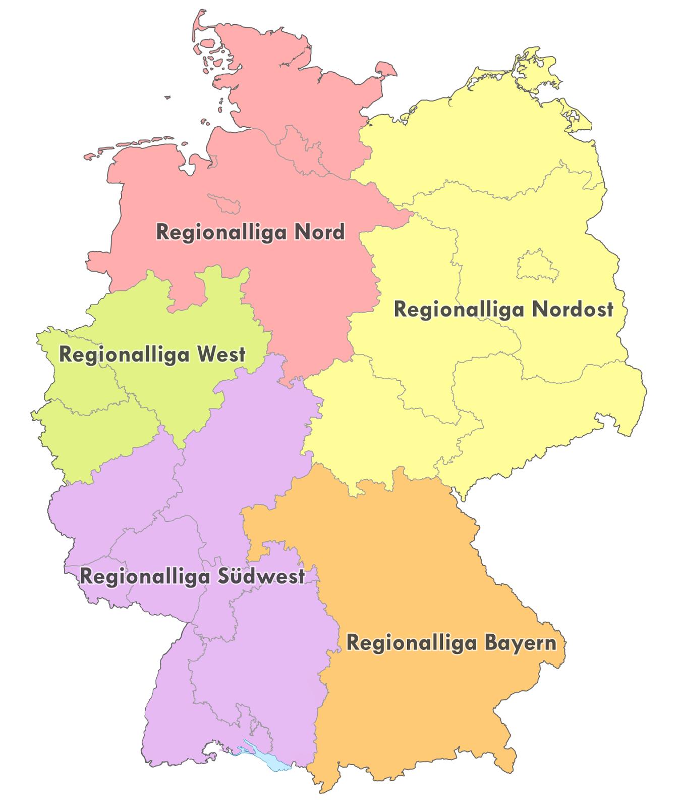 World Football Badges News Germany Regionalliga 2014 15